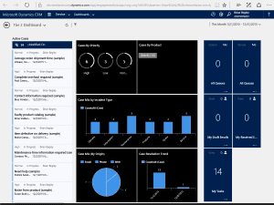 So what about the CRM 2016 Interactive Service Hub?