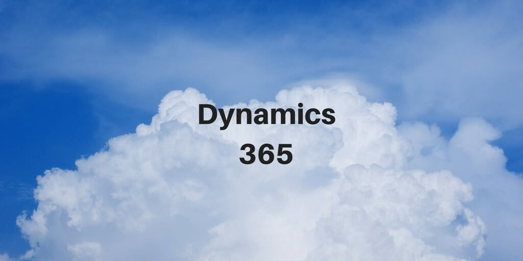 A Brief Introduction to Dynamics 365