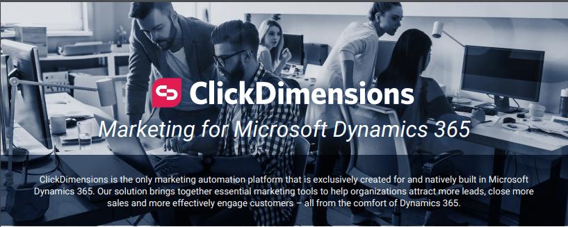 ClickDimensions Data Sheet