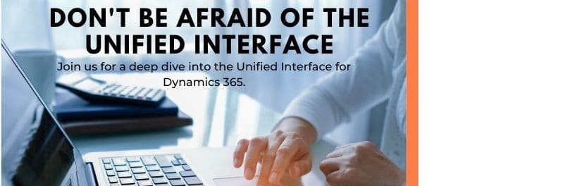 November Webinar: Don't Be Afraid of the Unified Interface