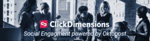 ClickDimensions Social engagement | enCloud9
