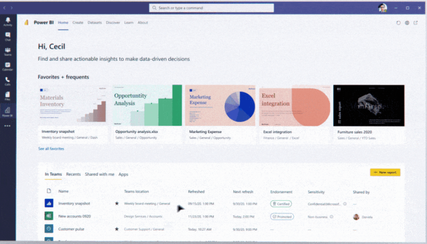 New features in Microsoft Teams | enCloud9