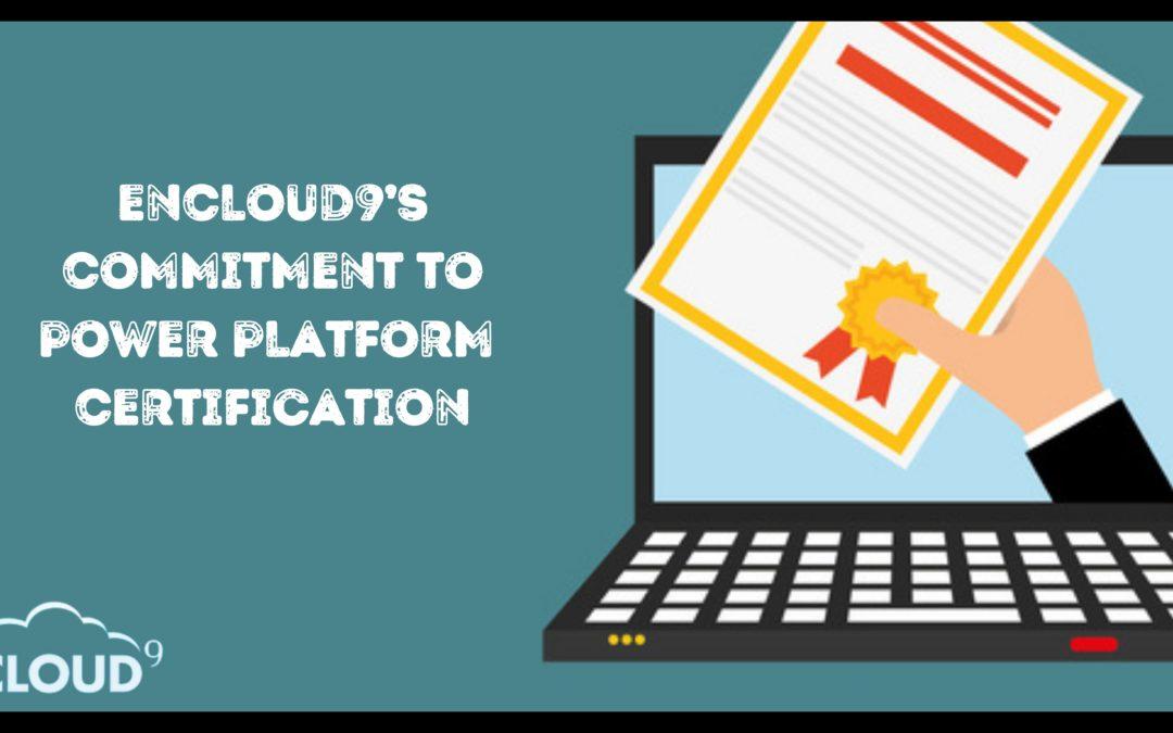 enCloud9's Brian Begley Achieves Three New Microsoft Power Platform Certifications